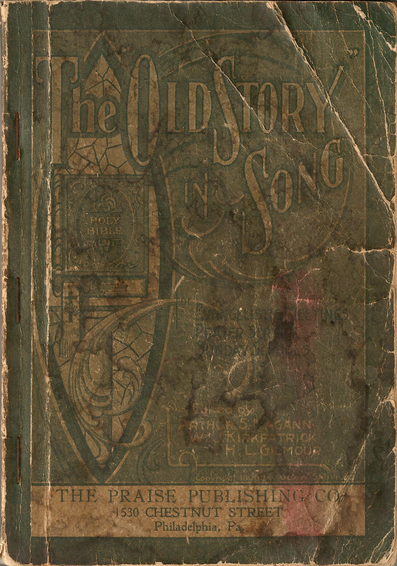 The Old Story in Song : Front Cover