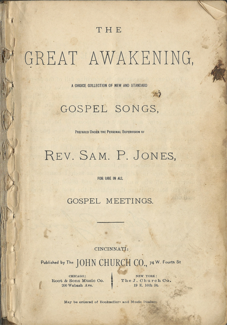 The Great Awakening : Title Page